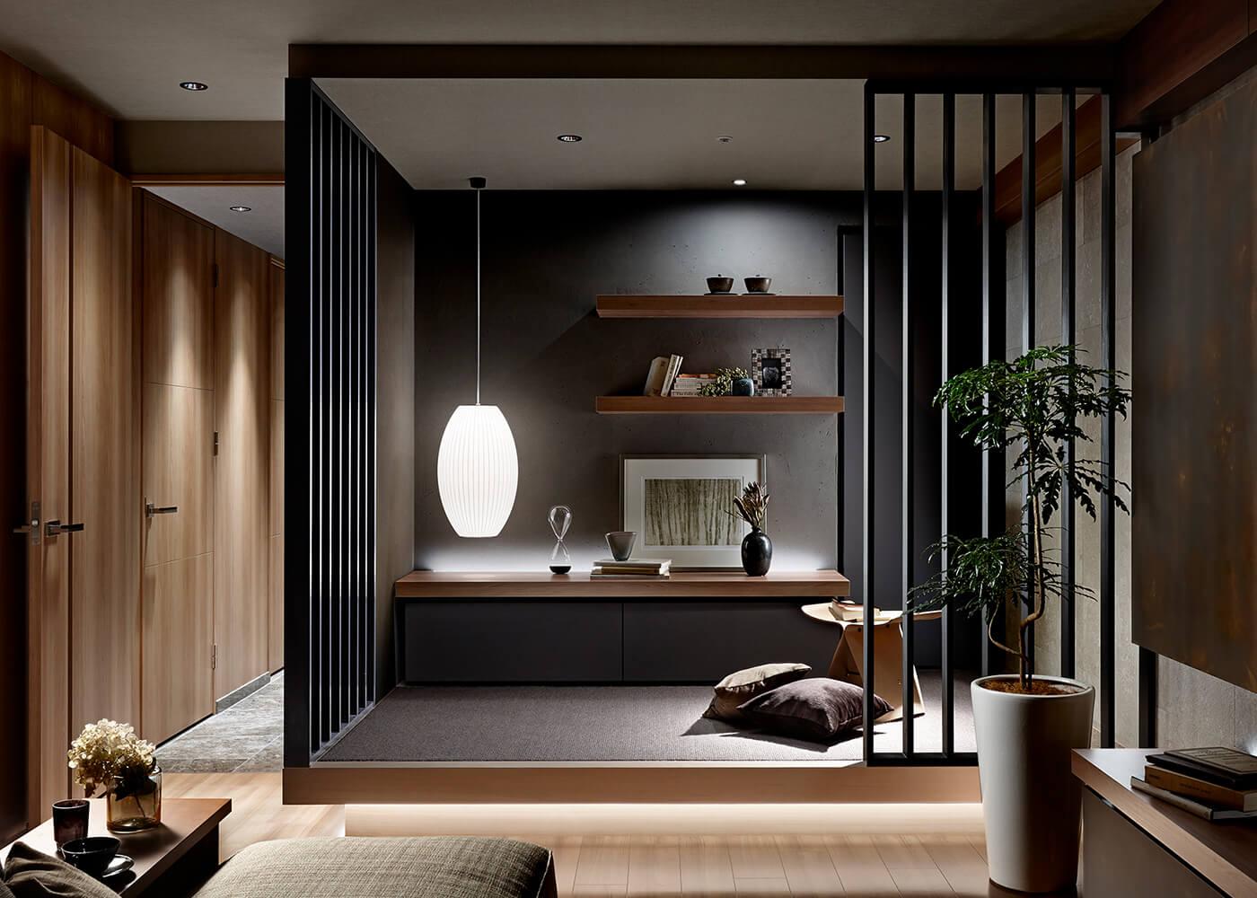 Living-Japanese Room